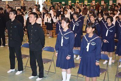 69年の歴史に幕 東中が閉校式 4月に3校統合で再出発 - 琉球新報 ...