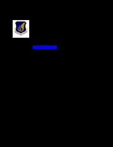 嘉手納基地の滑走路運用指示書