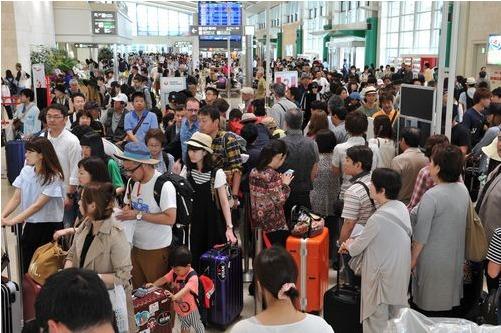 入域観光客957万人 県発表