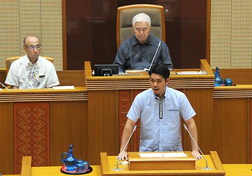 県民投票条例、審議入り 県議会