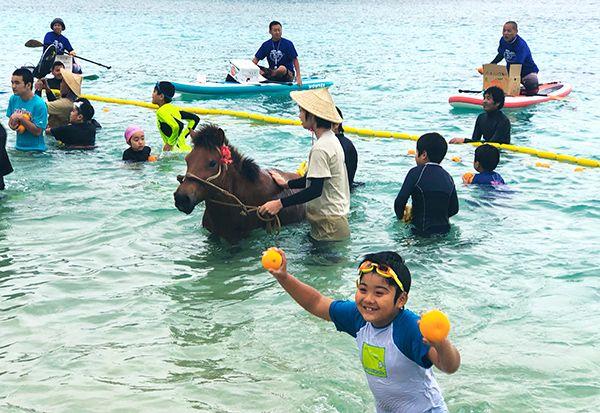 一足先に夏の笑顔 与那国で海開き - 琉球新報デジタル|沖縄のニュース ...