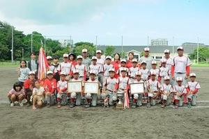 昨年優勝チーム!!☆根差部ベースナイン☆
