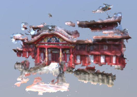 デジタルで首里城復元 東大講師ら 写真募り3D化