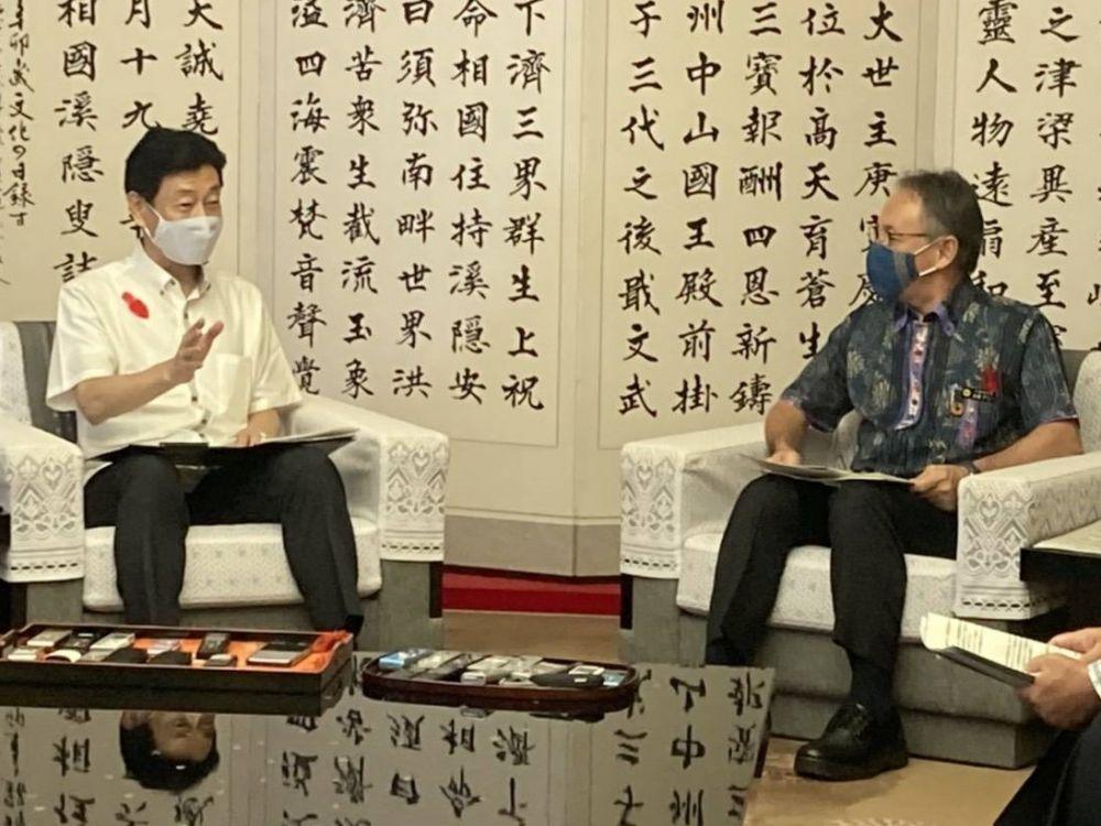 地方臨時交付金の増額、GoTo継続を 玉城知事が西村再生相へ要請