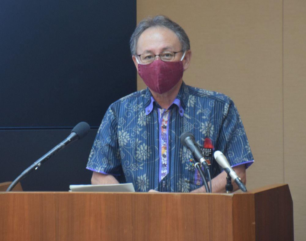 沖縄県のコロナ協力金 未申請事業者の再応募、知事が呼び掛け