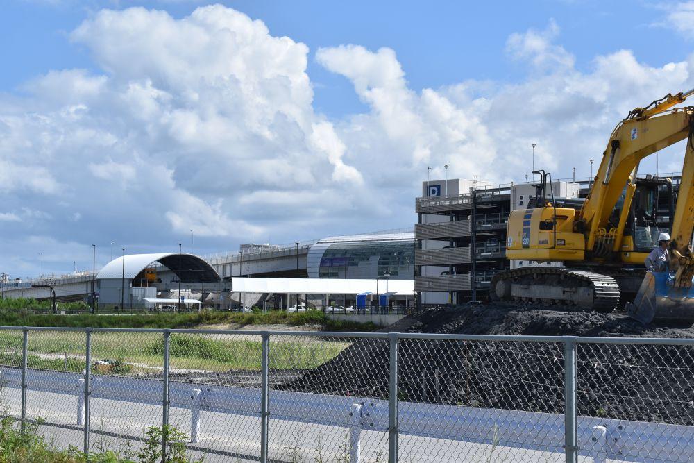 「まだ寂しい」てだこ浦西駅 進む開発、コロナで一部撤退も