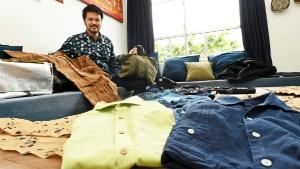 """沖縄素材で世界へ ファッションブランド""""LEQUIO"""""""