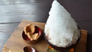 憧れの「古里の味」再現 塩黒糖ぜんざい