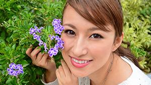 沖縄美人(3) LOVE&PEACEは世界共通! 前堂ニイナさん