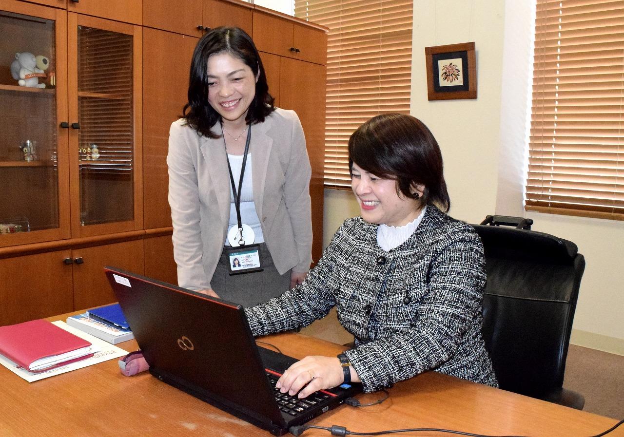 「今だからこそ、働き方改革」 りゅうせき商事社長 富原加奈子さん(1) DEAR WOMAN