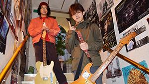 沖縄の音楽シーンを賑わす 奢る舞けん茜×ヤングオオハラ 対談インタビュー